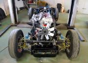 podwozie z silnikiem